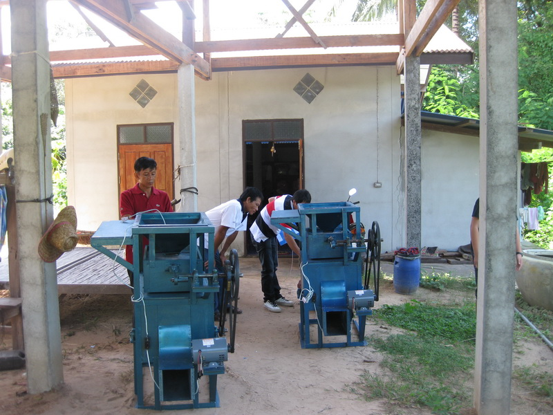 Seed cleaner, Mukdahan