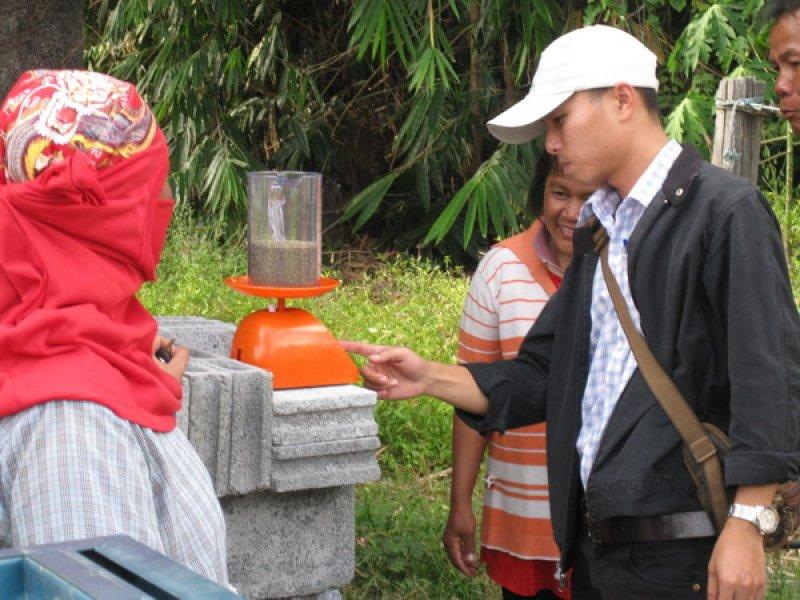 Inspecting Tanzania seed quality