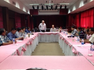 Planning seed production in Thailand and Laos for the 2015-16 season 1